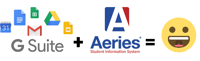 G Suite + Aeries = Happy Teacher