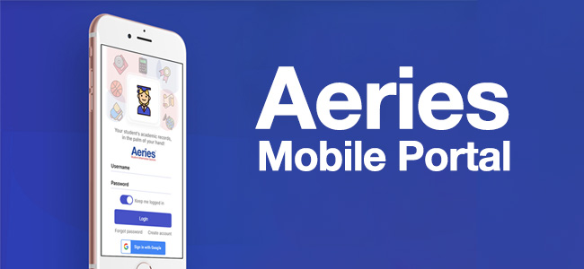 Aeries Mobile Portal App for Parents and Students